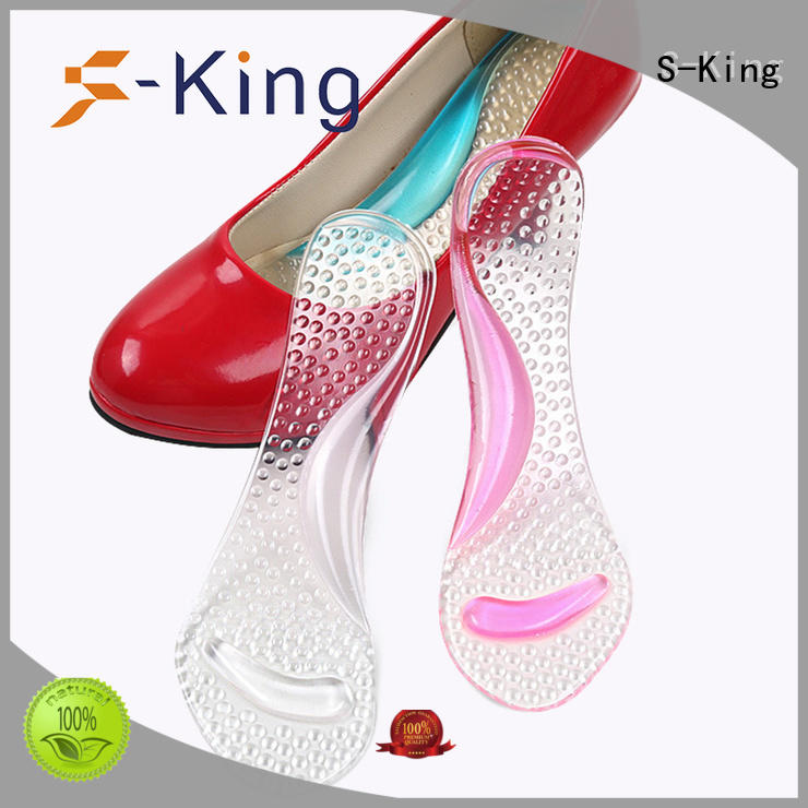foot insoles shoe arch pu insoles S-King