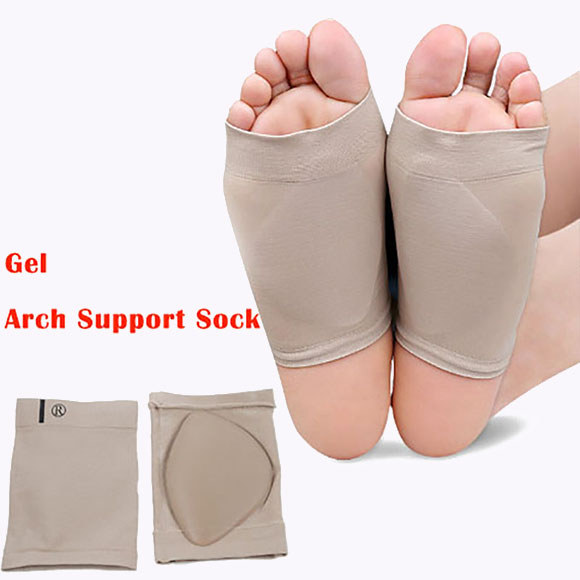 S-King-Wholesaler Foot Care Silicone Arch Support Sleeve Flat Feet Orthotics-4