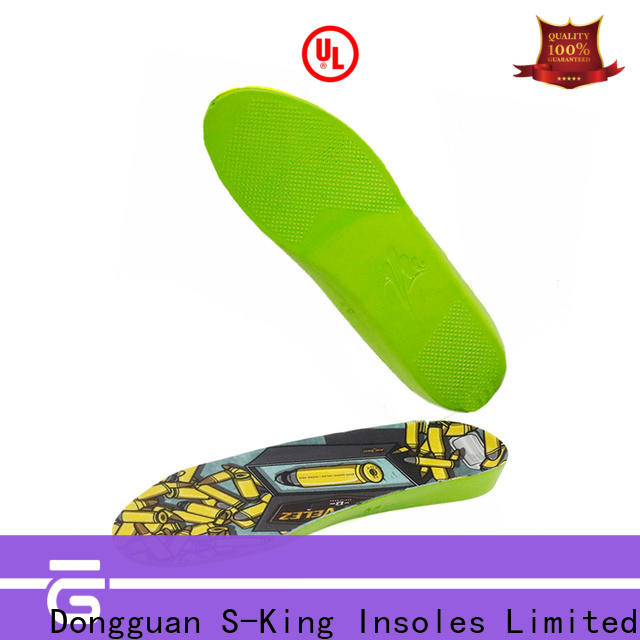 S-King memory foam insoles with arch support manufacturers