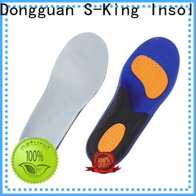 S-King gel insoles for trainers factory for running shoes