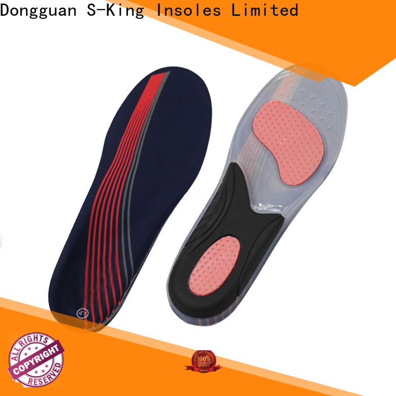 S-King High-quality gel insoles for heels company for running shoes
