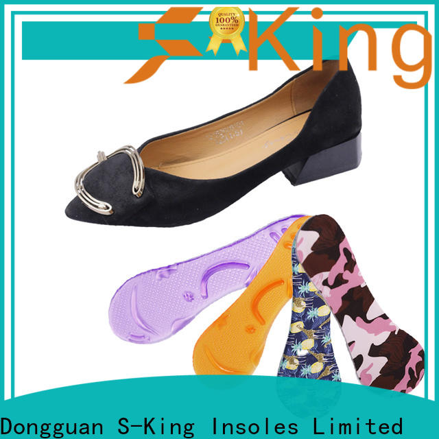 S-King New leather insoles for women's shoes price for fishing