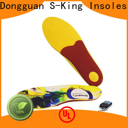 S-King Custom insoles for cold feet for golfing