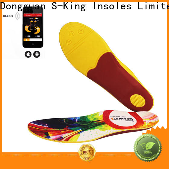 S-King rechargeable heated insoles canada price for snow