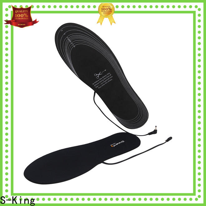 S-King Wholesale rechargeable heated insoles canada factory for snow