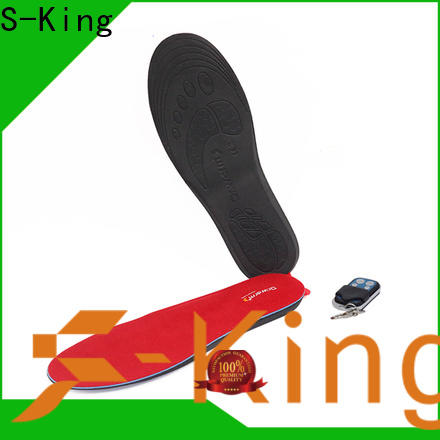 Top heated insoles women factory for skiing