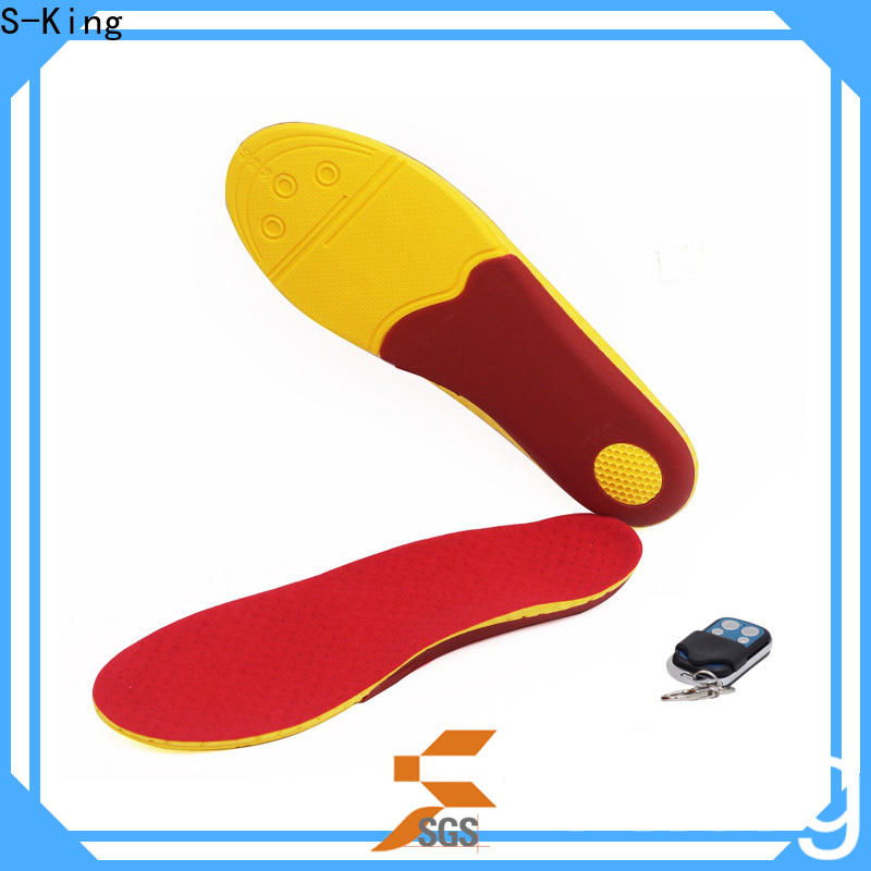 S-King OEM heated inner soles manufacturers for shoes