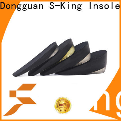 S-King OEM height insoles for dress shoes company