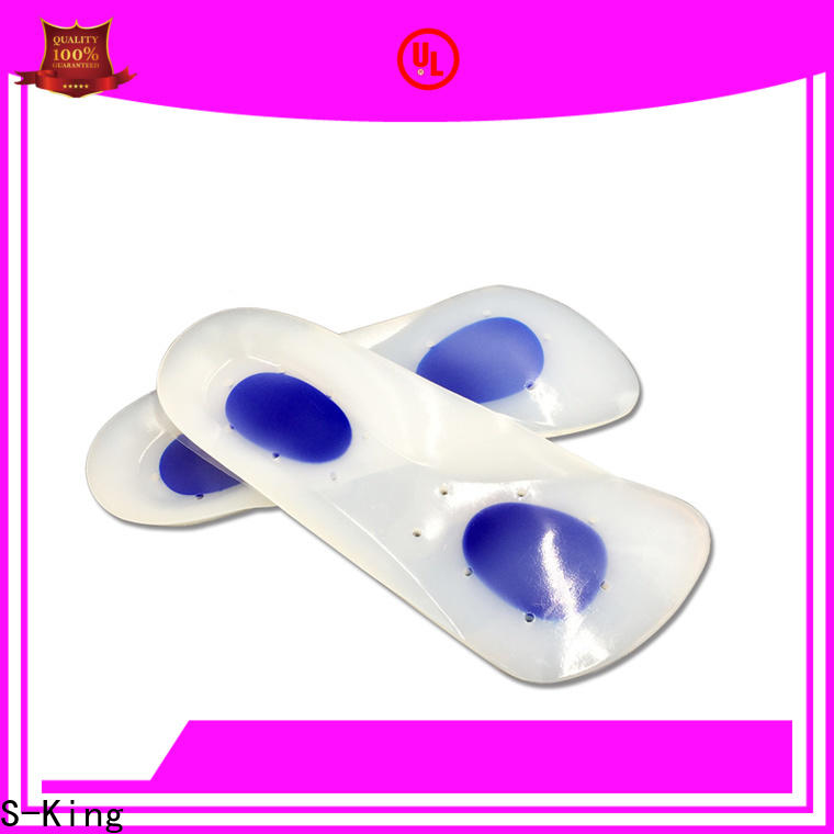 S-King silicone shoe pads insole Supply for unbearable