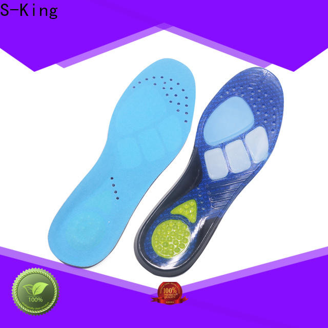 S-King OEM gel foot insoles factory for fetatarsal pad