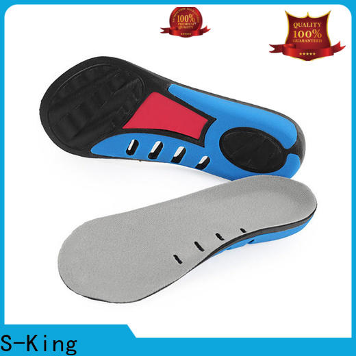 S-King High-quality orthotic arch support insoles price for stand