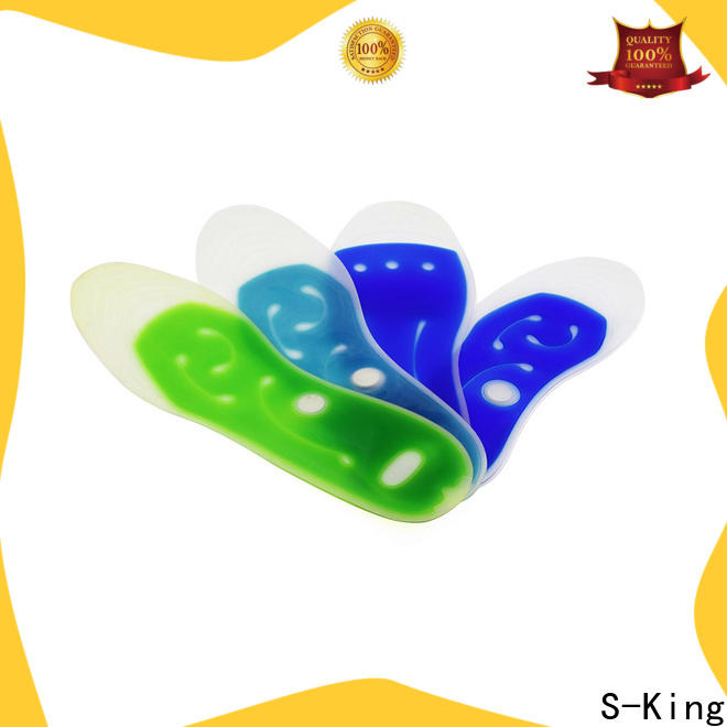 Wholesale comfy feet liquid gel insoles for unbearable