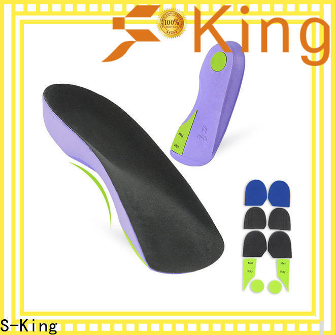 S-King High-quality mens orthotics shoe inserts Supply for stand