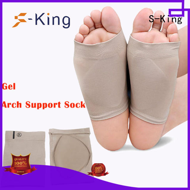 S-King breathable arch support bandage orthotics boots