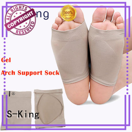 S-King Brand fasciitis flat arch support socks manufacture