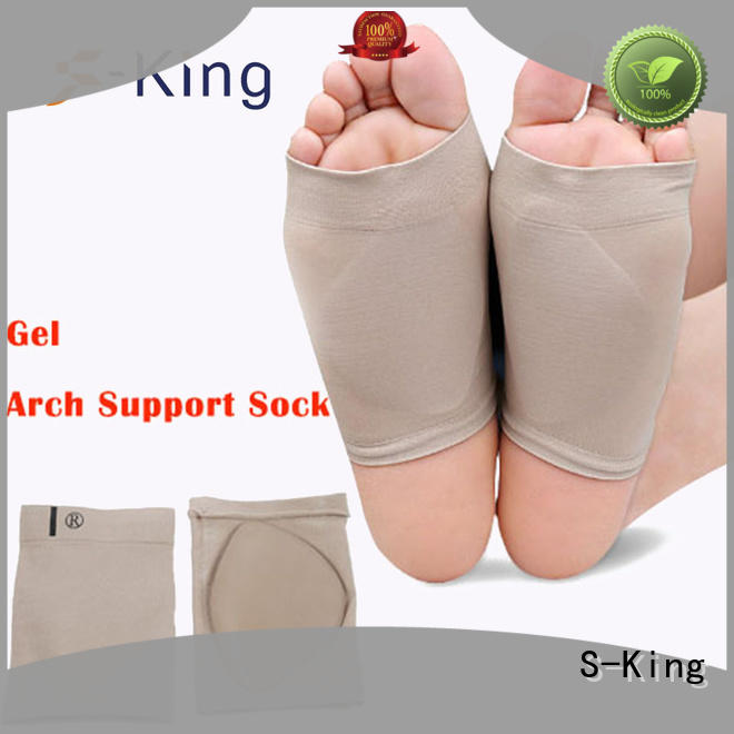 Wholesale plantar orthotics arch support socks S-King Brand
