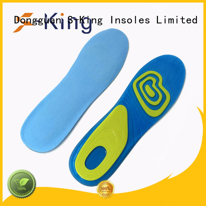gel insoles for shoes gel absorption gel insoles S-King Brand
