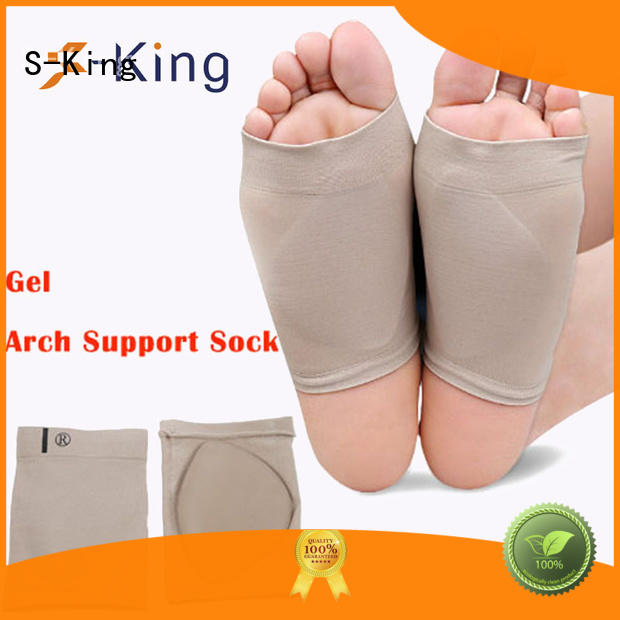 care flat arch support socks socks S-King Brand