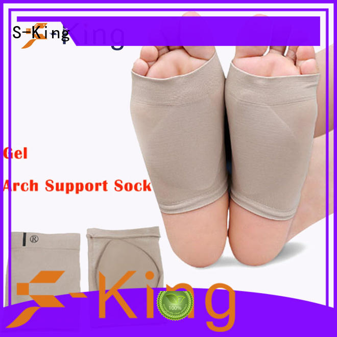 fasciitis plantar fasciitis arch support silicone sleeve S-King Brand