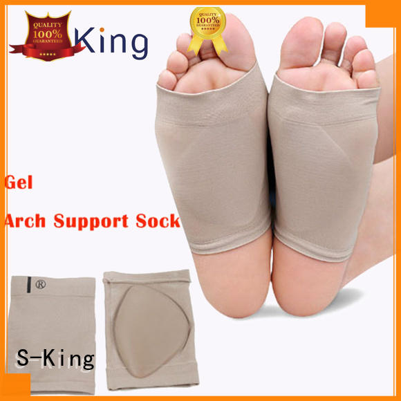 silicone Custom socks arch support socks foot S-King
