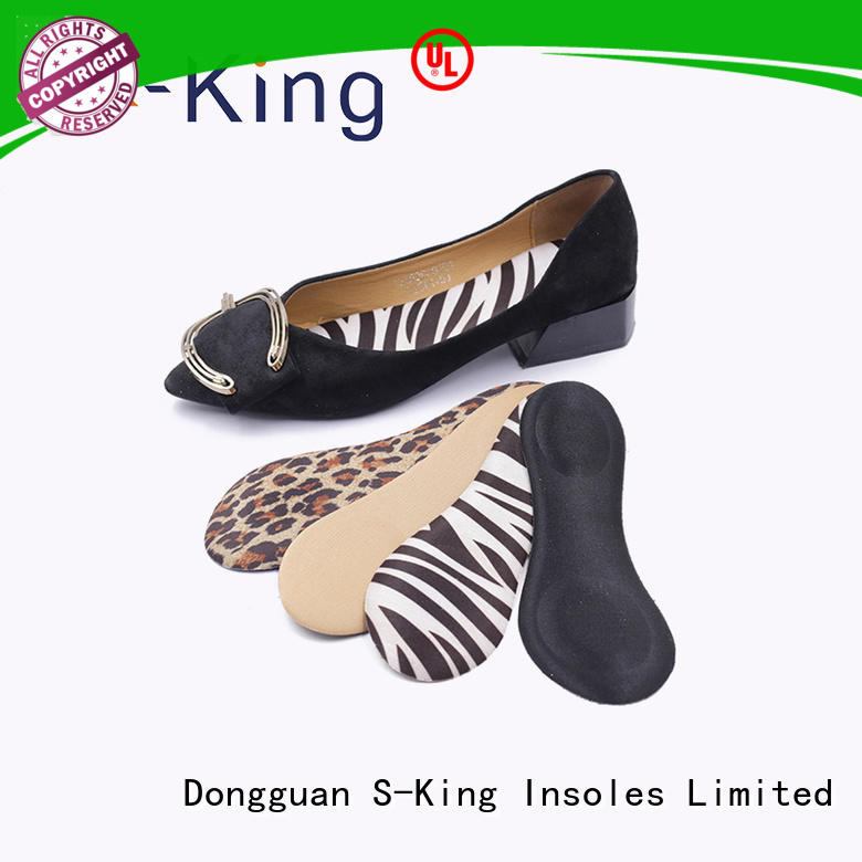 S-King removable insoles for women's shoes foot care feet fatigue