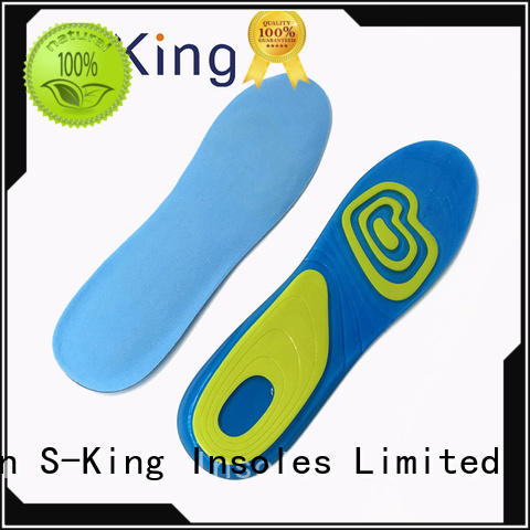 sports absorption balance S-King Brand gel insoles for shoes manufacture