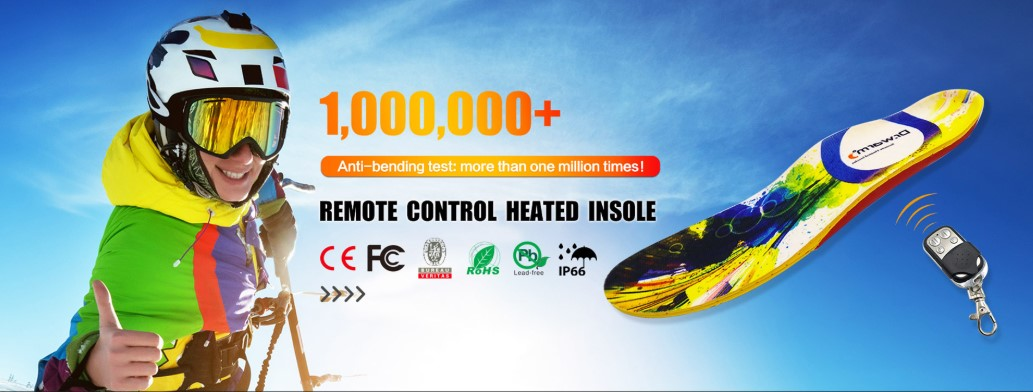 remote control heated insoles
