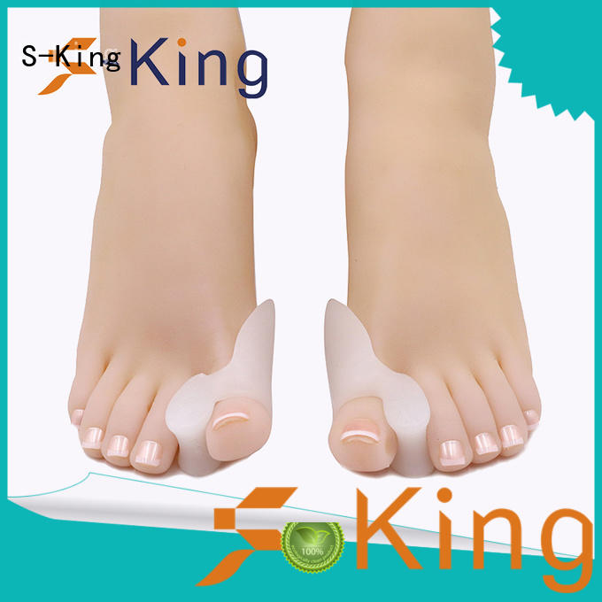 S-King Brand straighten big gel toe separators for bunions protector supplier