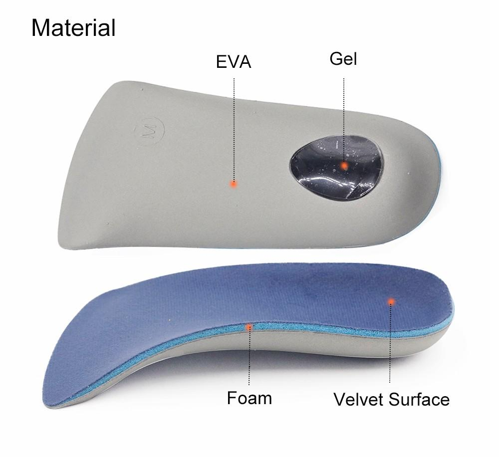 men's orthotic insoles pain for stand S-King