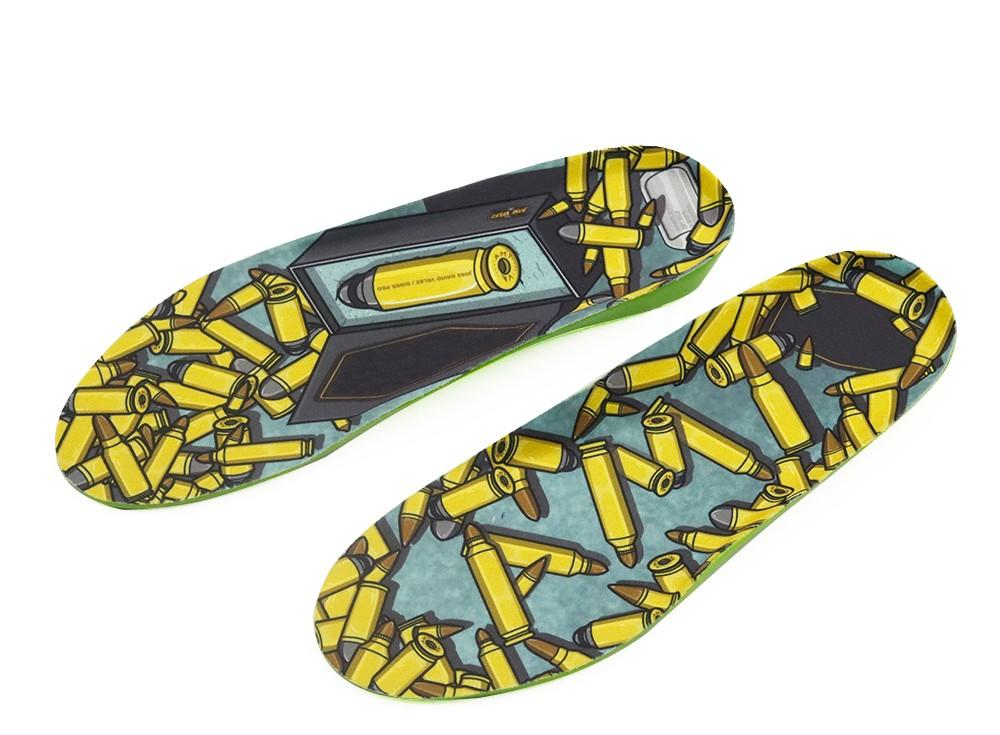 S-King Custom gel orthotic insoles for eliminate pain