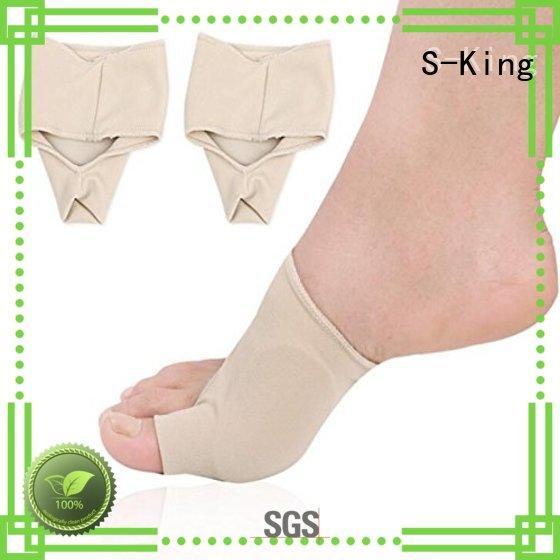 S-King heel care socks factory for walk