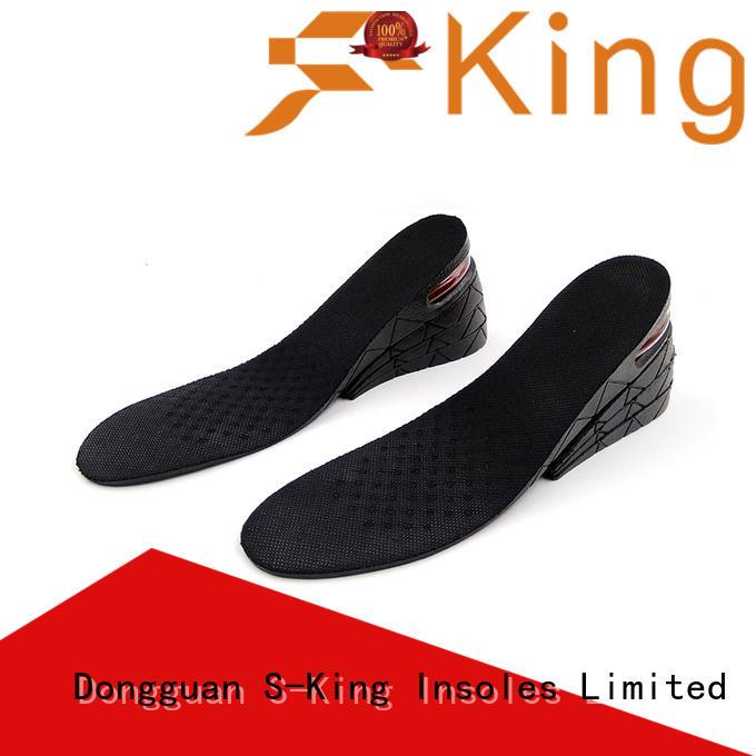 S-King heighten height insoles 5 inches liftsup for footcare health