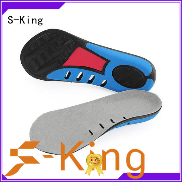 S-King sole orthotics company for walk