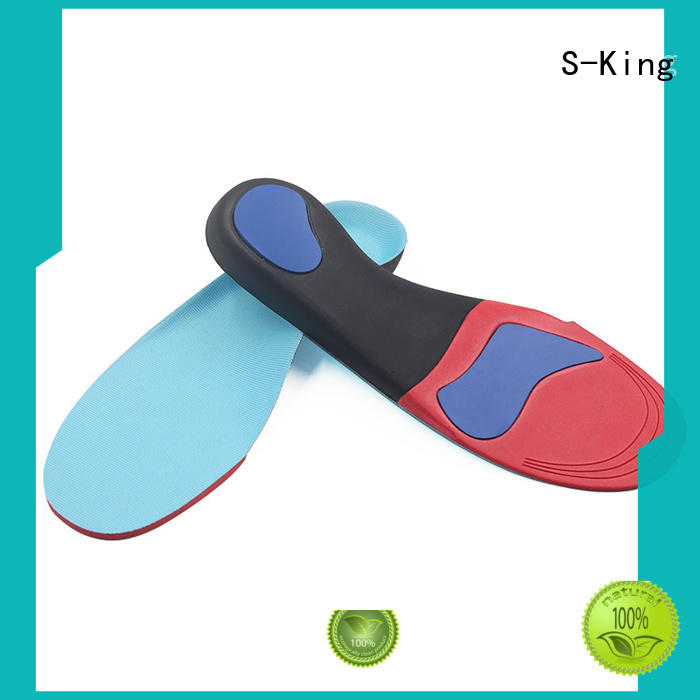 S-King Brand support lenghth orthotic insoles shoe factory