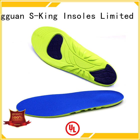 S-King athletic thick foam insoles for shoes