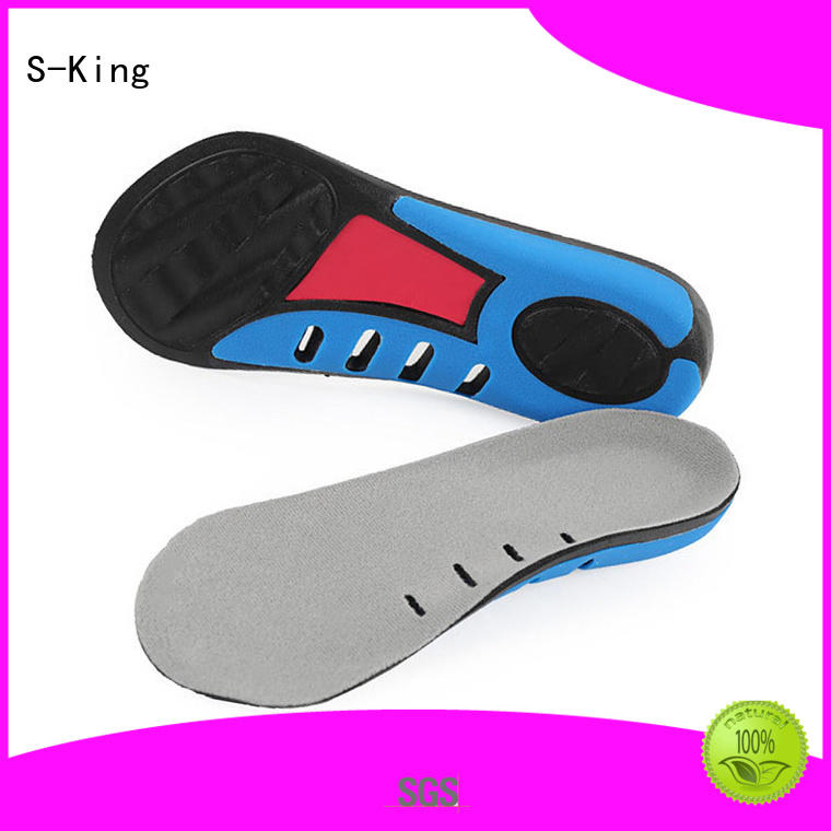 S-King cotton orthotic insoles high arch support for foot accessories