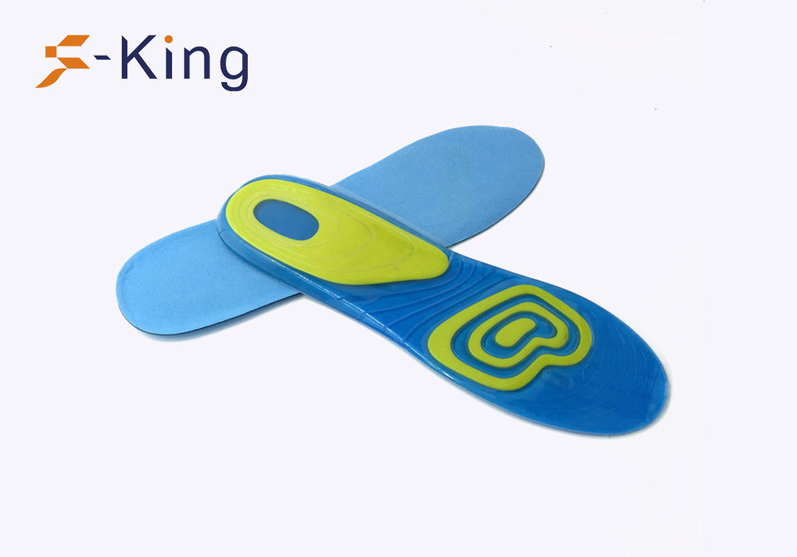 S-King-Cooling Gel Insoles | Foot Balance Shock Absorption Antibacterial Gel Sports-1