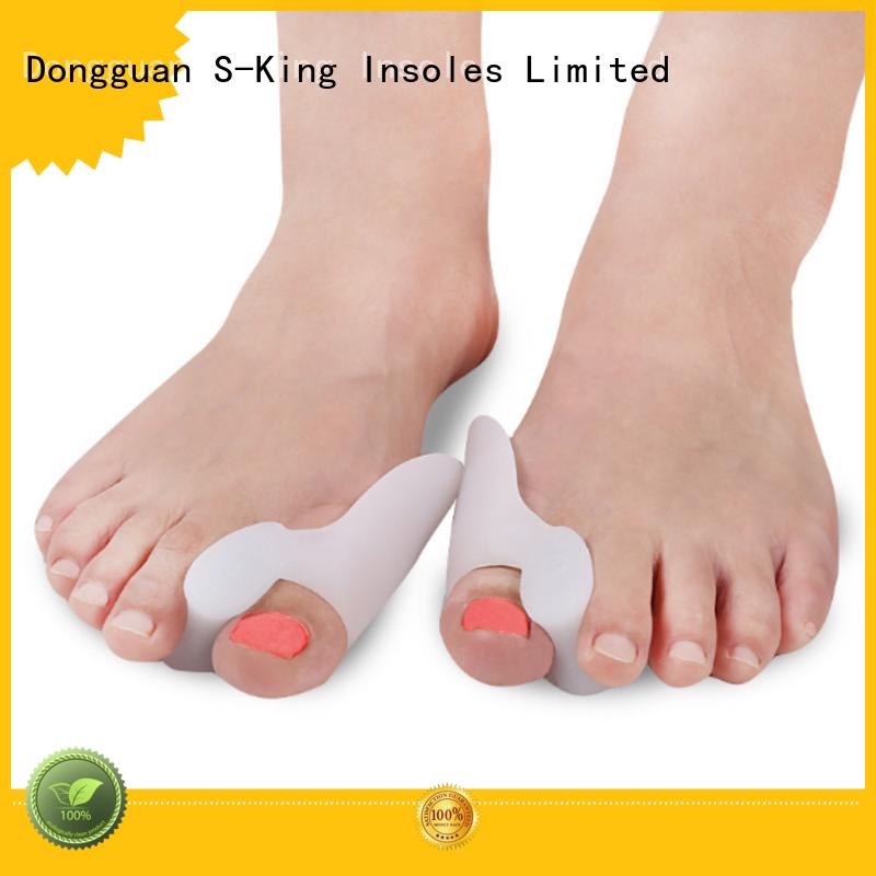 Wholesale correctors gel toe spacers S-King Brand