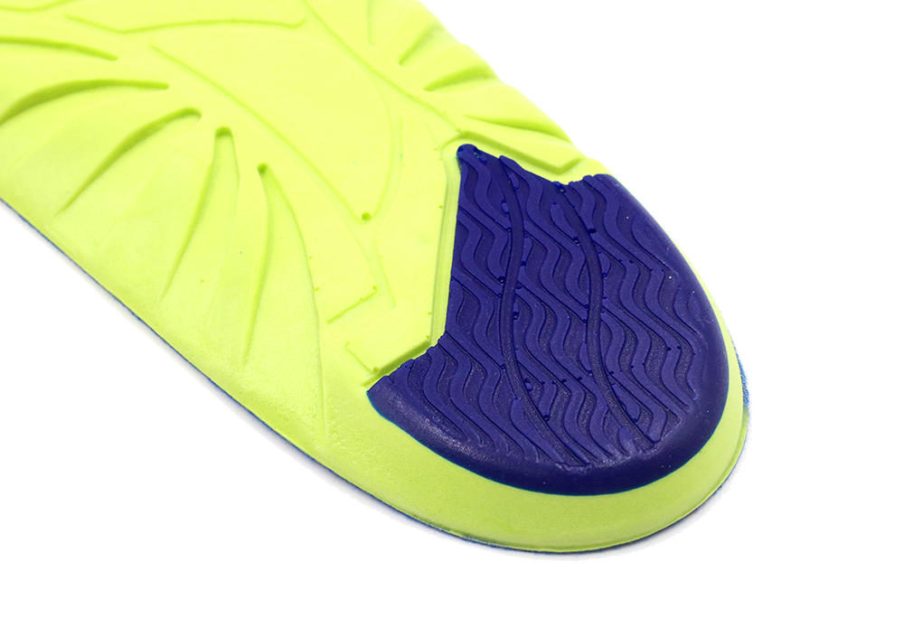 Wholesale Soft Breathable Athletic Sports Insoles , Comfort Massage Crivit Sports Insoles