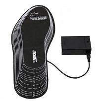 Wire electric heated insoles winter foot protect for hunting/skiing/fishing