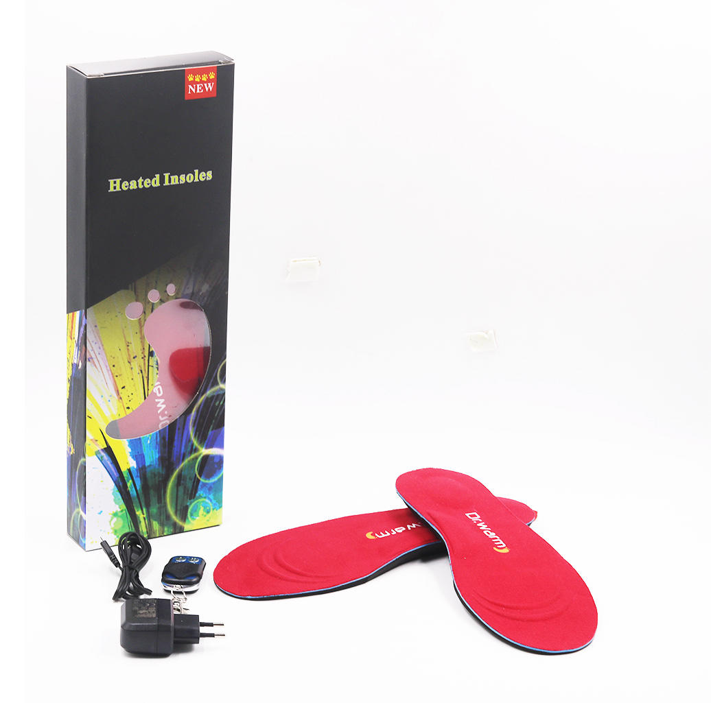 S-King Brand controlled protect foot custom battery heated insoles