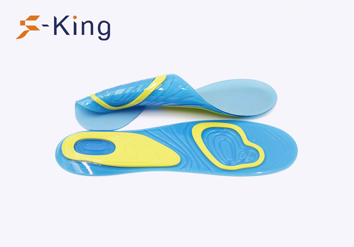 S-King-Foot Balance Shock Absorption Antibacterial Gel Active Insoles-5