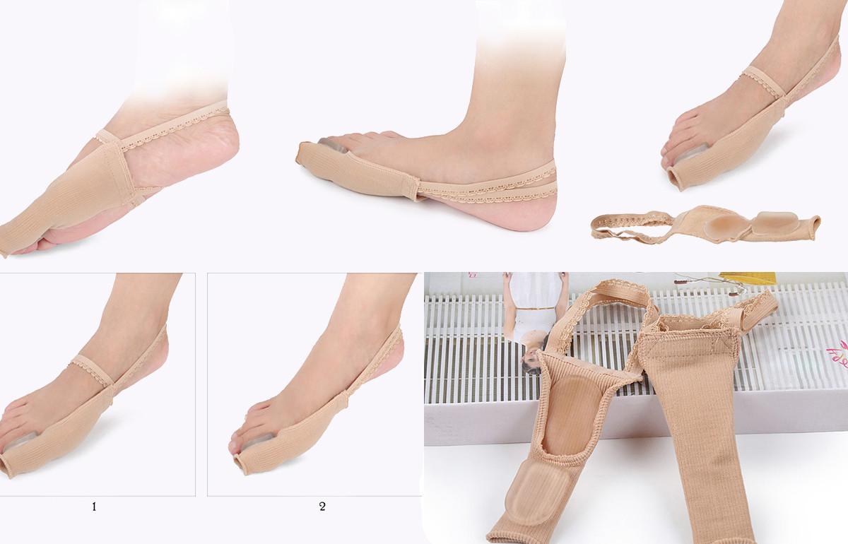S-King-Big Gel Toe Stretchers Splint Corrector, Hallux Valgus Bunion Toe-1