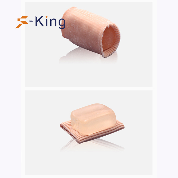 S-King-Quality Gel Hallux Valgus, Bunion Toe Separator, Gel Toe Stretchers-2
