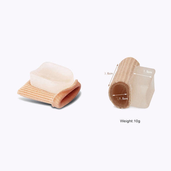 splint silicone gel toe spacers hole S-King company