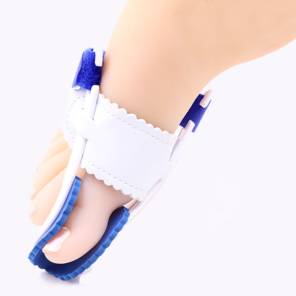 S-King-Hallux Valgus Splint, Toe Stretcher Separator Foot Pain Relief Silicone-3