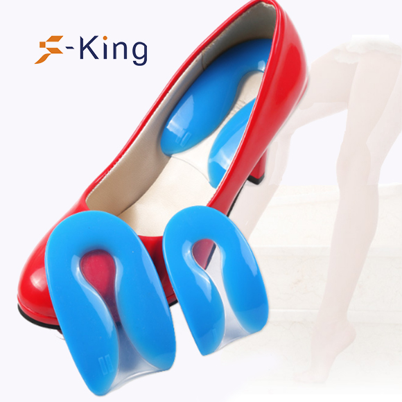 S-King-Gel Silicone Heel Cushion, Shock Absorption Orthotic Cushion | S-king-4