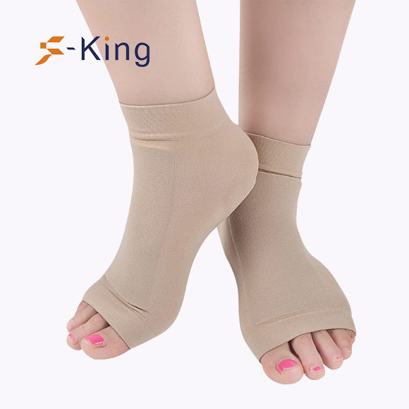 S-King-Silicone Gel Plantar Fasciitis Heel Protection Sport | Foot Care Socks-4
