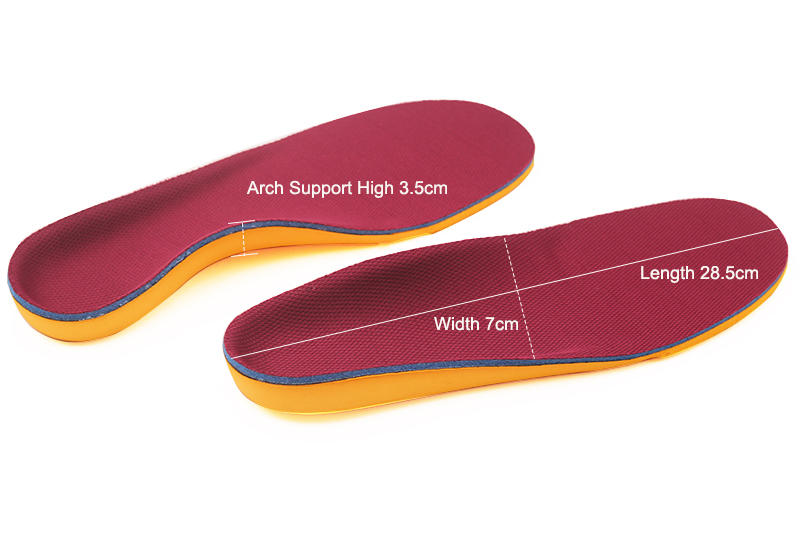 orthotic insoles for flat feet shoe eva orthotic insoles support S-King Brand