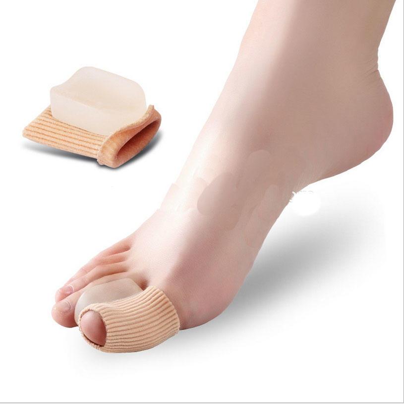 Fabric gel hallux valgus, bunion toe separator, gel corn protector Separator